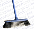 Household Broom with Plastic Handle